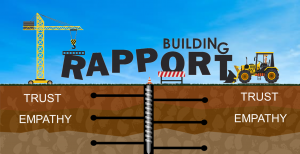 Illustration of building rapport