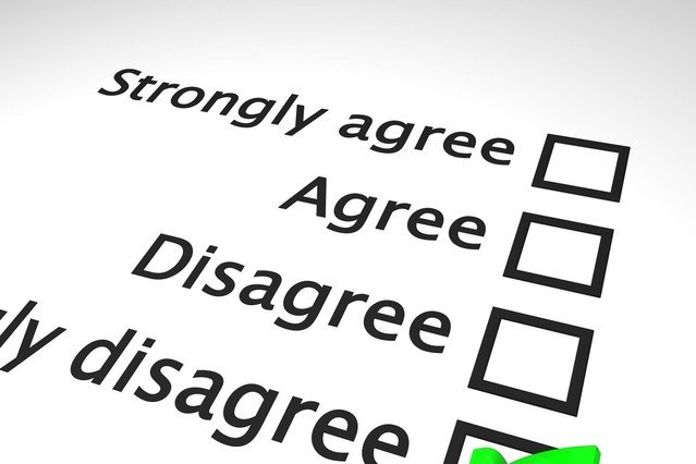 Image of a questionnaire for an article about RFP software comparisons.