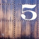 Image of the number five for an article about the Top Five Ways to Optimize Your Procurement Strategy.