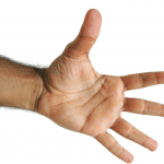 Image of five fingers for an article about Top five Things About Spend Analysis Technology.