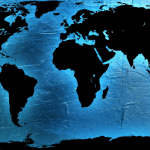 Image of a world map for an article about Optimizing Sourcing Solutions for Your Business.