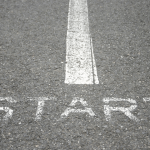 Image of a starting line for an article about Where to Start if You're New to Procurement Sourcing Solutions.